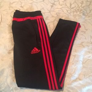 Boys Adidas Training Pants - Boys Size L